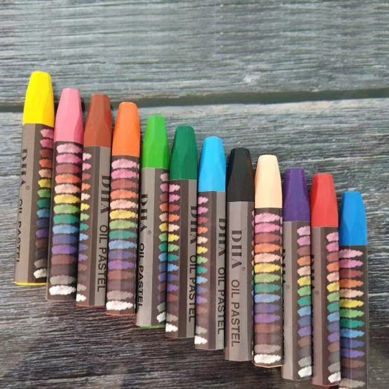 12 colors Washable Crayons